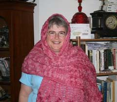 example of shawl style